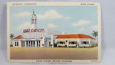Howard Johnson's Miami Florida Vintage Postcard 9A-H1722