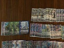 Cardfight!! Vanguard Collection with all cards shown in pictures