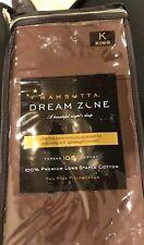 BRAND NEW!   Wamsutta DreamZone 1000-TC King  Pillowcases Chocolate