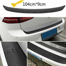 Car Rear Bumper Guard Protector Pad Trunk SUV Sill Plate Trim Cover Rubber Kit