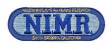 Voyage to the Bottom of the Sea NIMR Name Logo Embroidered Patch NEW UNUSED