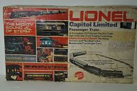 LIONEL CAPITAL LIMITED 8304 PASSENGER ELECTRIC TRAIN SET 027 GAUGE