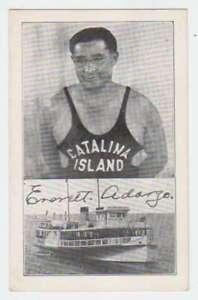D0919 : 1940's CATALINA Île , Ca Plongeur Carte Postale