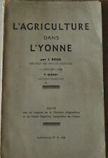 L'Agriculture dans l'Yonne en 1943