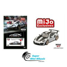 Mini GT 1:64 Porsche 991 Turbo GT2RS GT Silver Metallic #63【Pre-order】