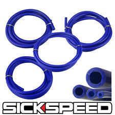 3 METER SILICONE HOSE KIT SET FOR ENGINE BAY DRESS UP 4MM 6MM 8MM 12MM BLUE P5