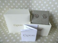 Clogau Gold, Silver & Rose Gold Hummingbird Stud Earrings RRP £119