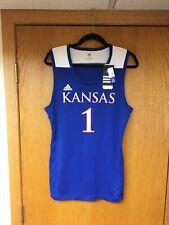 Kansas Jayhawks Basketball Jersey size adult Small/Medium Nwt