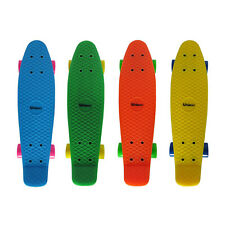 Skateboard Mini Cruiser Penny Board Rollbrett Retro-Board 55x14cm Farbenauswahl