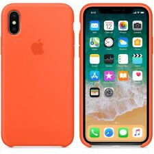 For Apple iPhone X / 5 / 6 / 7/ 8 Plus Original Silicone Leather Soft Case Cover