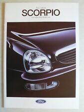 Prospekt Ford Scorpio 2. modelo sedán/torneo información previa, 9.1994, 16 páginas