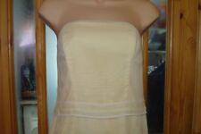 Lemon (pale) /  (Marzipan)  Dress - Formal Party - Ball -  Prom Gown Dress 12