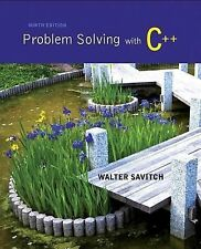 Problem Solving with C++ by Walter Savitch (2014, Mixed Media)