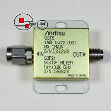 1×USED Anritsu G3F21 10.66GHz 2.92mm Interface Notch Filter