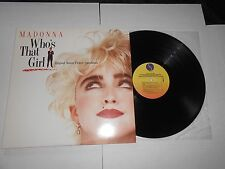 LP- Madonna - Who's That Girl