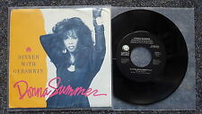 """Donna SUMMER-Dinner WITH GERSHWIN 7"""" single US PROMO"""