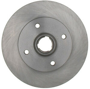 Disc Brake Rotor and Hub Assembly-Non-Coated Rear ACDelco Advantage 18A239A