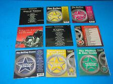 Karaoke Disco Lot Of 9 Blues Brothers Vol.190 Rolling Stones como Se Muestra