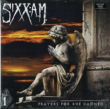 SIXX:A.M. PRAYERS FOR THE DAMNED VINILE LP BIANCO / WHITE VINYL NUOVO