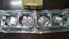 TOYOTA CORONA RT100 Finisher Headlight Bezel Lamp Genuine Parts NOS JAPAN R+L