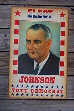 Johnson campaign poster