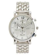 Aeropostale Classic Metal Watch Silver