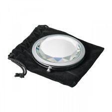 Eleganter Kosmetikspiegel / Schminkspiegel mit Vergrößerung - Diamantoptik -NEU-