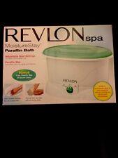 Revlon Moisture Stay Paraffin Plus bonus 2 extra wax refills