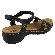 Sandali e scarpe infradito neri formale per il mare da donna