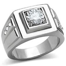 Solitaire CZ Rings for Men