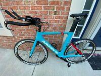 Argon 18 E-117 Tri Triathlon Bicycle Shimano Ultegra/105 L 2019 Brand New