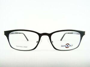 Ausgefallene Brillen Stahlfassung mattes dunkelgrün mittlere Glasgröße neu Gr. M