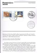 ITALIA 2000 MUSEI E ARCHIVI STORICI  BOLLETTINO COMPLETO DI FRANCOBOLLI FDC