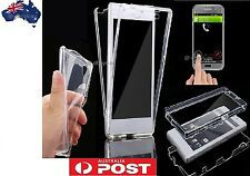 Sony xperia xa case clear 360° full protective UltraThin Soft Gel TPU Front/Back