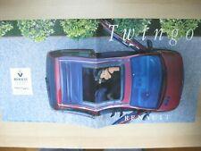 Renault Twingo prestige brochure Prospekt langue française French 36pg 1996 1995