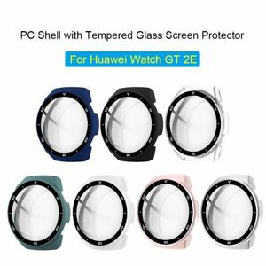 Glass Cover Dial Scale Protective Case Bumper Shell For Huawei Watch GT 2E