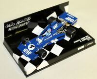 Minichamps 1/43 Scale 400 750004 Tyrrell Ford 007 J.P Jabouille Diecast F1 Car