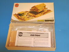 Vintage AIRFIX  Model Kit JUNGLE OUTPOST  03322 complete set sealed in package
