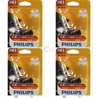 4x Philips Vision +30% 1st. HB3 12V 65W P20d Blister Birne