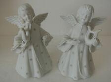 Vintage SCHMID BROS SB Japan ANGEL CHERUB Candlestick Candle Stick Figure Holder