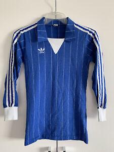 adidas Vintage Trikot Rohling 70er 80er 80s Fußball Shirt Gr. 3/4 S jersey DP3