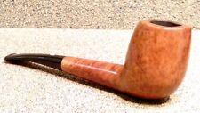 "CASTELLO - TradeMark - ""Wavy"" Rim Canted Billiard - Smoking Estate Pipe / Pfeife"