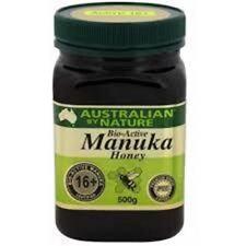 Bio Active 16+ 500g Manuka Honey Australian by Nature - New Zealand Manuka Honey