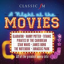 Classic FM: A Night At The Movies - Various Artists (NEW 3CD)