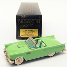 Brooklin Models 1/43 Scale BRK13A 001A - 1955 Ford Thunderbird - Seaspray Green