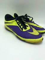 Nike Hypervenom Soccer Cleats - Size 4 Y Purple Yellow Neon Boys Youth