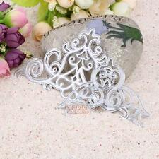 2Pcs Sweety Lace Cutting Dies Stencils DIY For Scrapbooking Envelope Paper Card