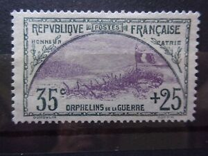 FRANCE N° 152 ORPHELIN NEUF GOMME SANS CHARNIERE NI TRACE