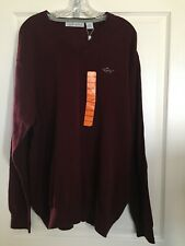 GREG NORMAN >NEW< Men's Signature Pullover V-Neck Golf Sweater SA750 (size XXL)