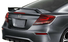 2012-2015 UNPAINTED/PRIMED REAR TRUNK SPOILER Fits A HONDA CIVIC SI 2-DOOR Coupe